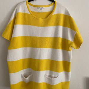 Madewell Striped Short-Sleeved Sweater